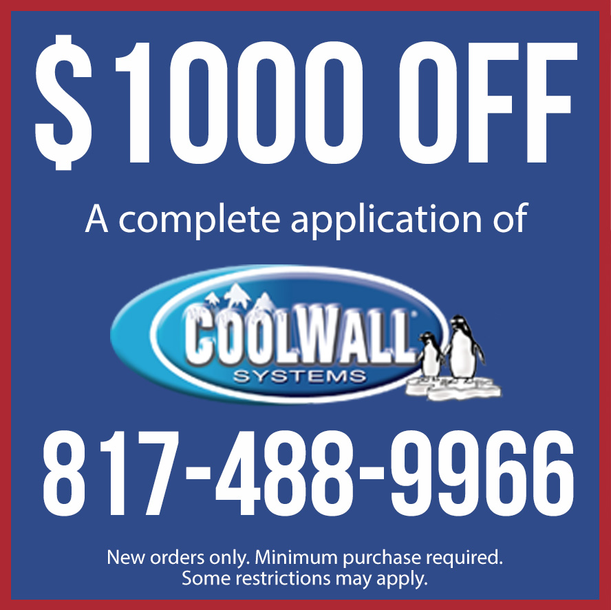 Get $1000 Off Coolwall Exterior Coating
