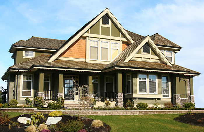 beautiful home exterior windows paint roofing