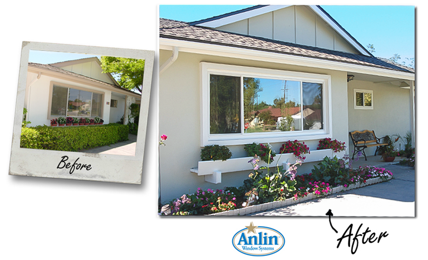 Anlin Replacement Windows before and after